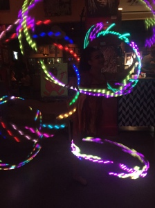Yes, those are individual hula hoops!
